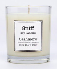 Cashmere candle, scented candles