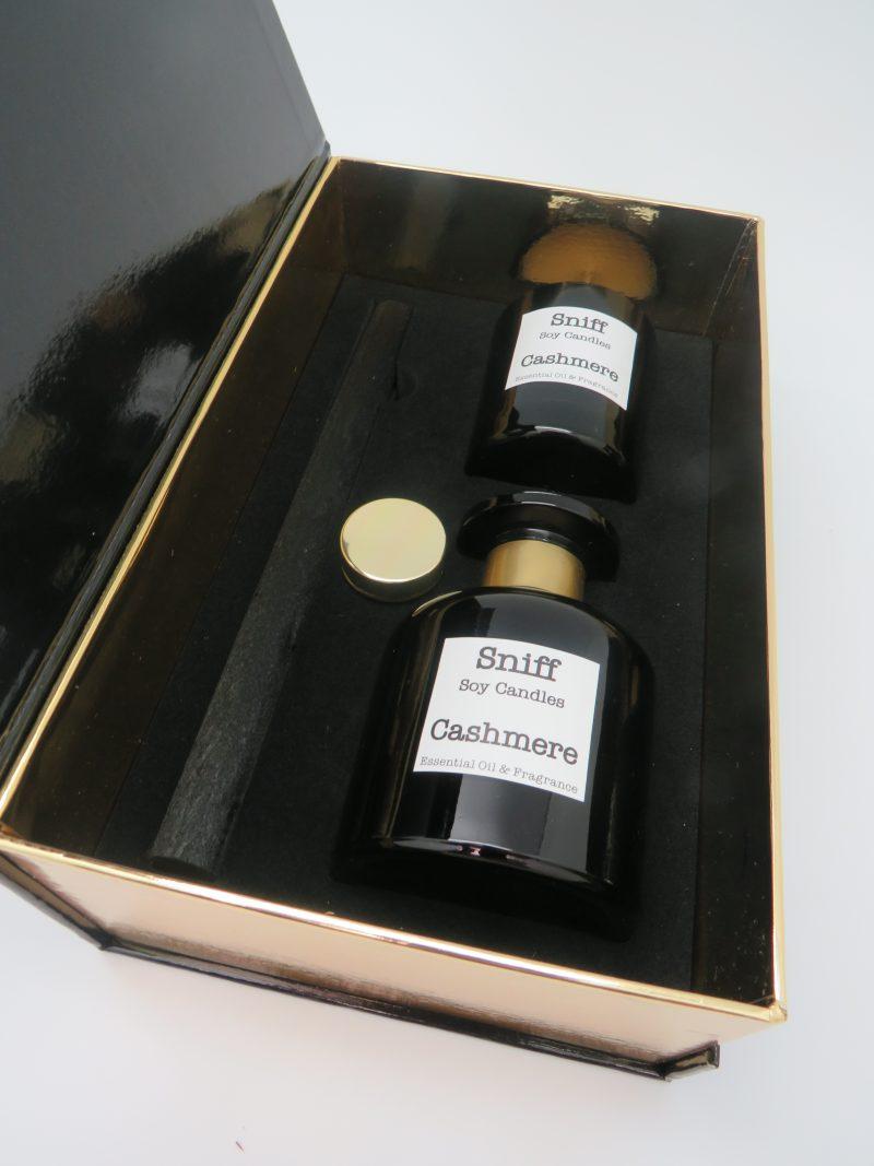 Black Cashmere Dacron Reed Diffuser